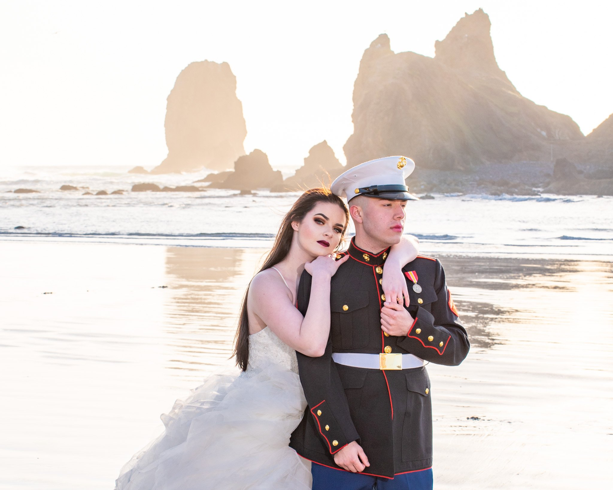 Call of the Mountains Photography-Elopement-Cannon-Beach-Mariah&Michael-25
